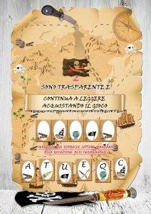 enigma caccia al tesoro in PDF per casa per bambini 5-7 anni