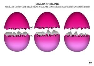indizi per caccia alle uova di pasqua
